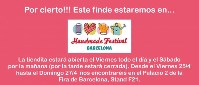 Sorteamos 4 entradas para Hand Made Festival