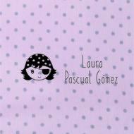 sello textil marcar ropa personalizado nena pirata