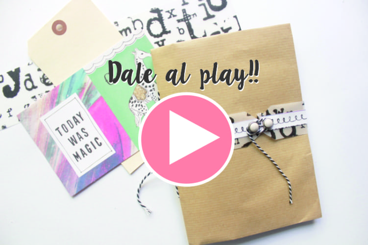 album desestructurado Xenia Crafts para Cute and crafts