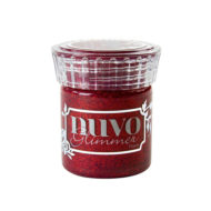 glimmer-paste-nuvo-garnet-red-cute-and-crafts-santa-coloma-de-gramenet-scrapbooking