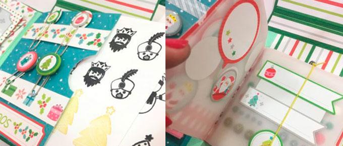 Snail mail carpeta con sorpresa: Blog Hop navideño Anita y su mundo