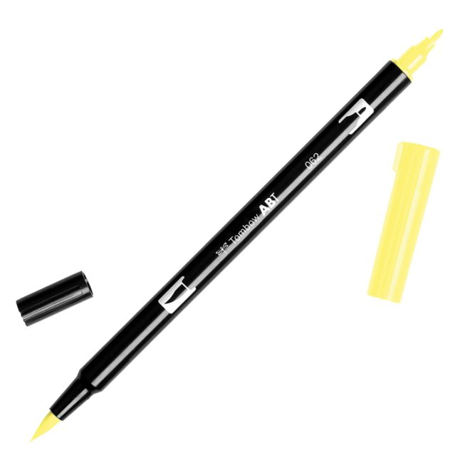 Rotulador ABT Dual Brush 062 Pale Yellow Tombow