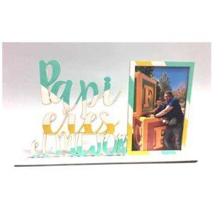 taller creativo marzo 2018 en santa coloma de gramenet taller infantil para el dia del padre donde haremos un marco de madera decorado con la frase papi eres el mejor