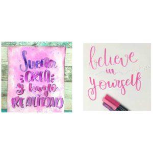 taller creativo marzo 2018 en santa coloma de gramenet taller lettering iniciación en santa coloma de gramenet barcelona con todo el material incluido