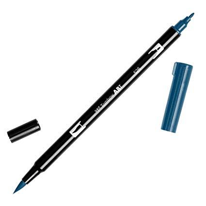 Rotulador ABT Dual Brush 526 True Blue Tombow