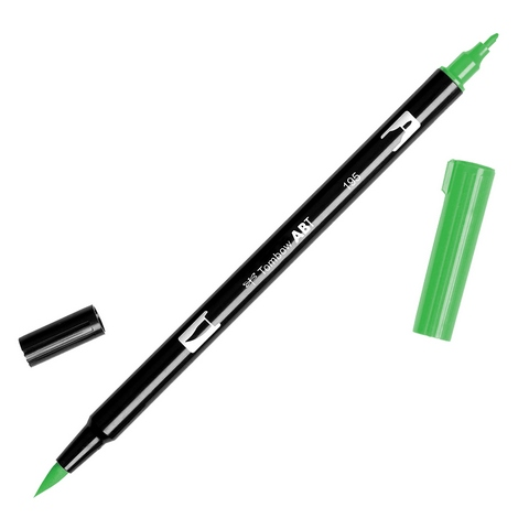 Rotulador ABT Dual Brush 195 Light Green Tombow
