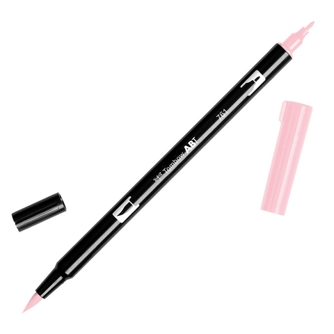 Rotulador ABT Dual Brush 761 Carnation Red Tombow