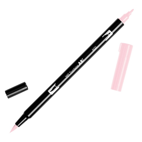 Rotulador ABT Dual Brush 800 Baby Pink Tombow