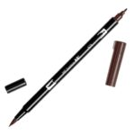 Rotulador ABT Dual Brush 879 Brown Tombow