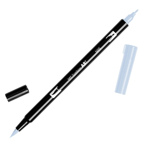 Rotulador ABT Dual Brush N95 Cool Gray 1 Tombow