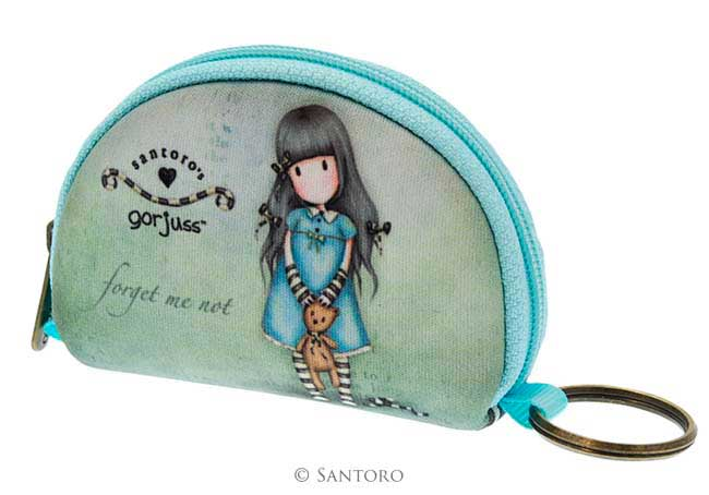 mini monedero de neopreno gorjuss