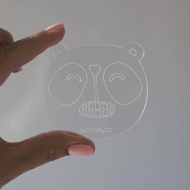base metacrilato panda sweet moma