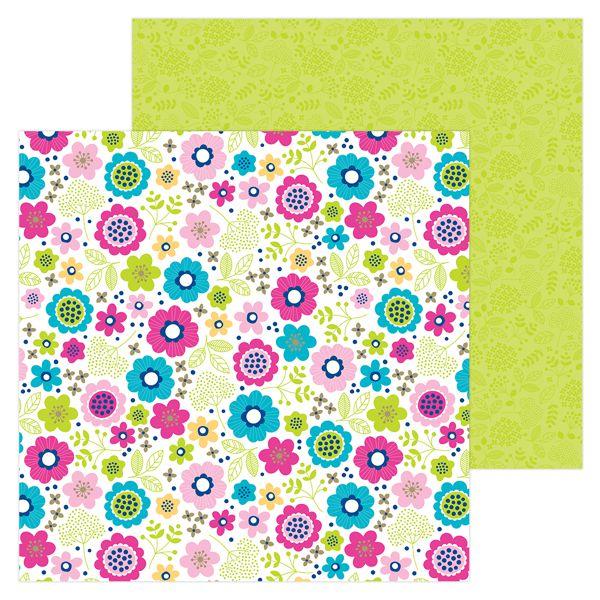 Papel scrapbooking 30x30 Hello - Lovely Doodlebug Design