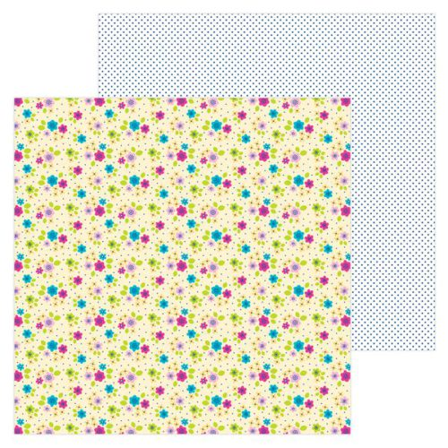 Papel scrapbooking 30x30 Hello - Petite and pretty Doodlebug Design