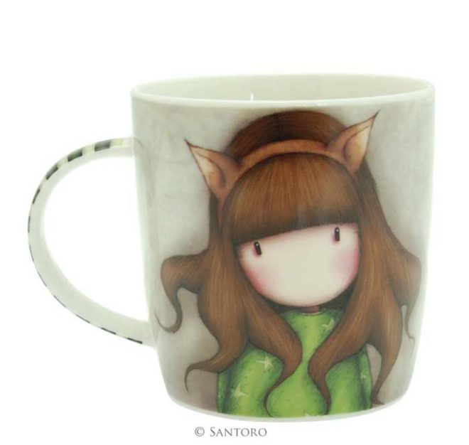 taza gorjuss the fox