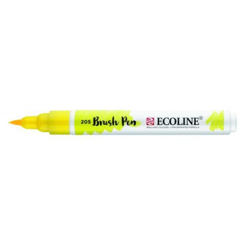 Rotulador Ecoline Brush Pen Amarillo Limón