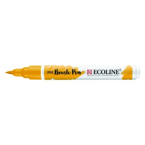 Rotulador Ecoline Brush Pen Amarillo Oscuro