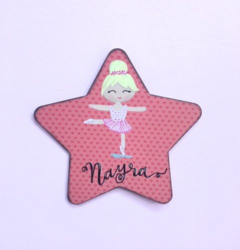 estrella-personalizada-bailarina-regalos-originales-cute-and-crafts-santa-coloma-de-gramenet-barcelona
