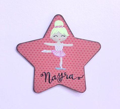 estrella-personalizada-bailarina-regalos-originales-cute-and-crafts-santa-coloma-de-gramenet-barcelona