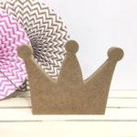 corona de madera dm para decorar
