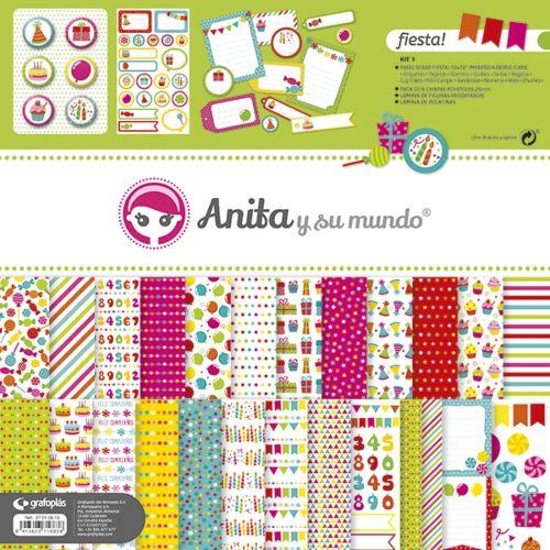 Kit Fiesta Anita Y Su Mundo
