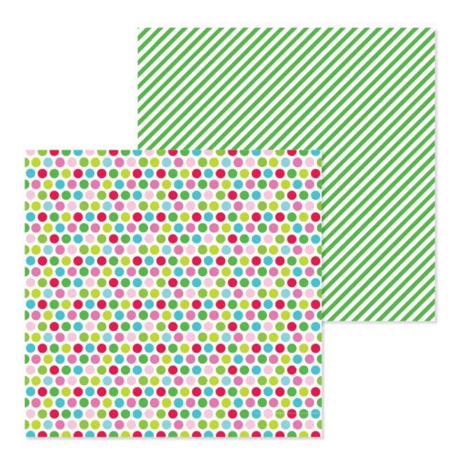Papel para scrapbooking 30x30 Merry and bright de Doodlebug Design