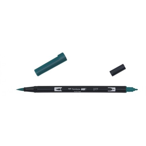 Rotulador ABT Dual Brush 277 Dark Green Tombow