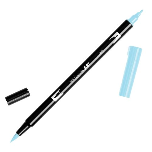 Rotulador ABT Dual Brush 491 Glacier Blue Tombow