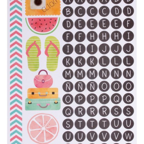 Stickers Postcards Scrapbooking