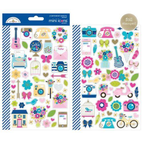 Stickers Hello de Doodlebug Design