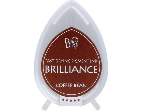 Tinta Brilliance Dew Drop Pearlescent Coffee Bean