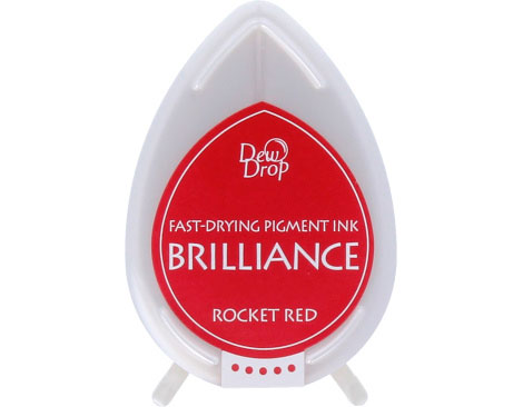 Tinta Brilliance Dew Drop Rocket Red