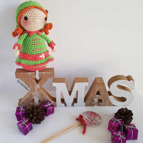 Taller Amigurumi con Juds Atelier - Hacemos un elfo navideño