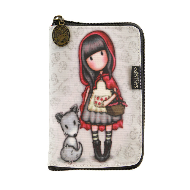 Bolsa plegable de tela Gorjuss Little Red Riding Hood