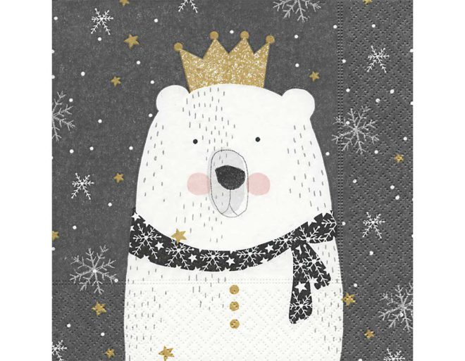 Servilleta para decoupage 33 x 33 Polar King