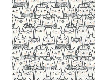 Servilleta para decoupage 33 x 33 Snow cats