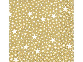 Servilleta para decoupage 33 x 33 Starlets Gold