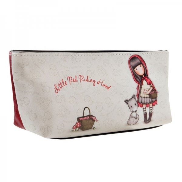 Estuche neceser portatodo Gorjuss Little Red Riding Hood