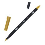 Rotulador ABT Dual Brush 027 Dark Ochre Tombow