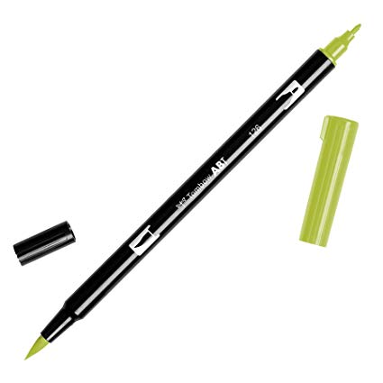 Rotulador ABT Dual Brush 126 Light Olive Tombow
