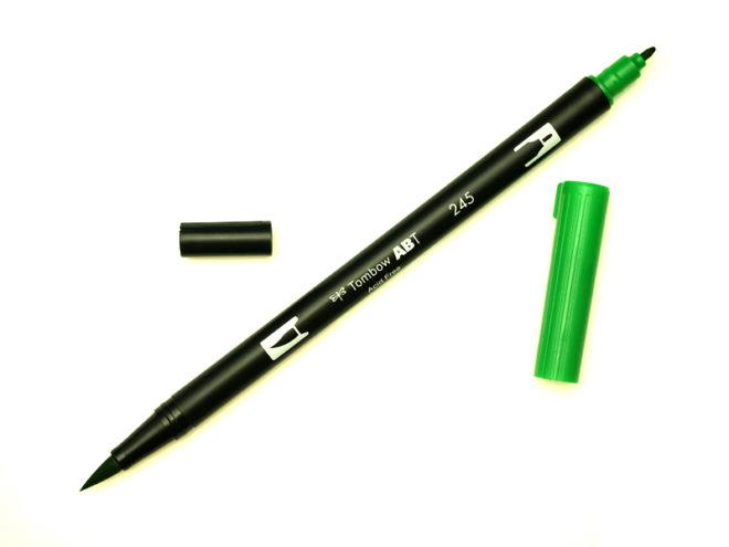 Rotulador ABT Dual Brush 245 Sap Green Tombow