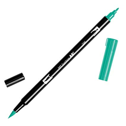 Rotulador ABT Dual Brush 296 Green Tombow