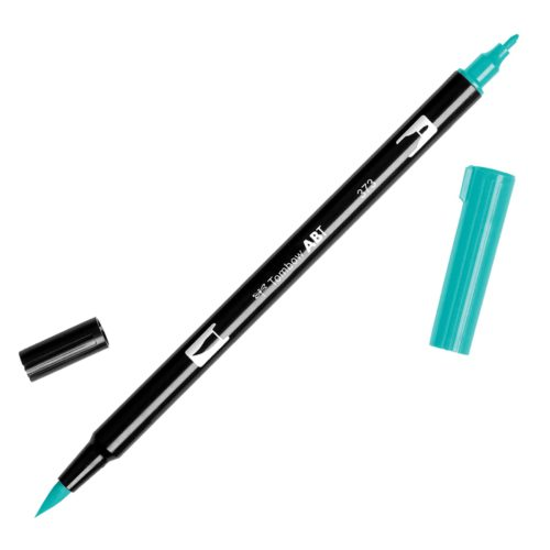 Rotulador ABT Dual Brush 373 Sea Blue Tombow