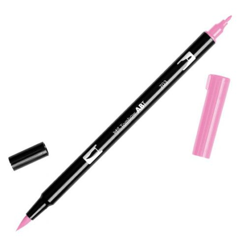 Rotulador ABT Dual Brush 703 Pink Rose Tombow