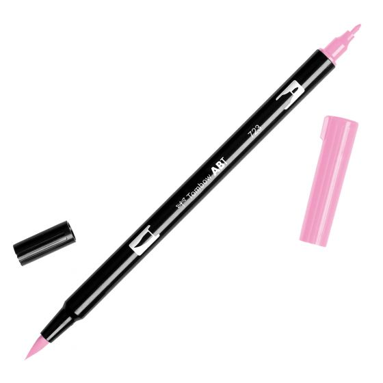 Rotulador ABT Dual Brush 723 Pink Tombow
