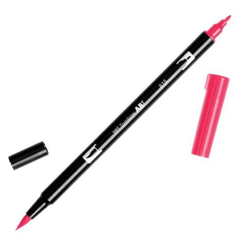 Rotulador ABT Dual Brush 815 Cherry Tombow