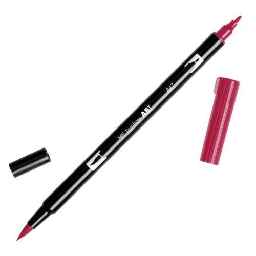 Rotulador ABT Dual Brush 847 Crimson Tombow