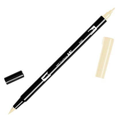 Rotulador ABT Dual Brush 990 Light Sand Tombow