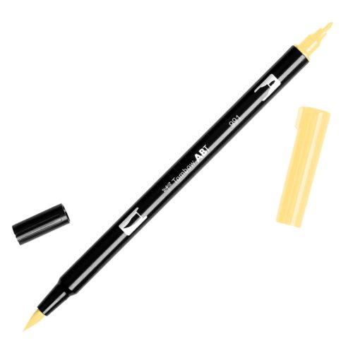 Rotulador ABT Dual Brush 991 Light Ochre Tombow
