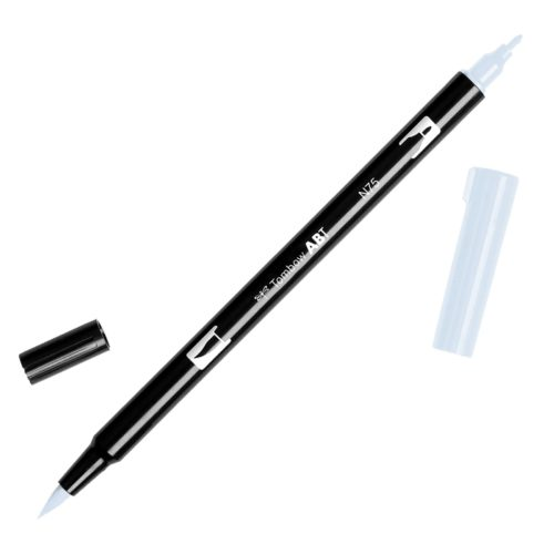 Rotulador ABT Dual Brush N75 Cool Grey 3 Tombow
